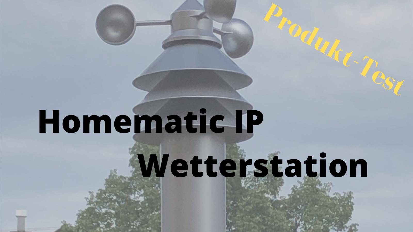 HomeMatic IP: Wetterstation – Basic